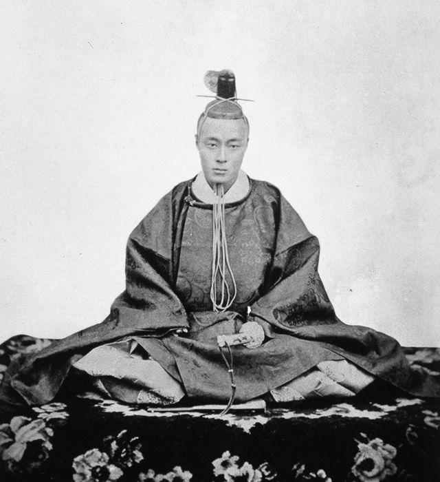 徳川慶喜(衣冠)