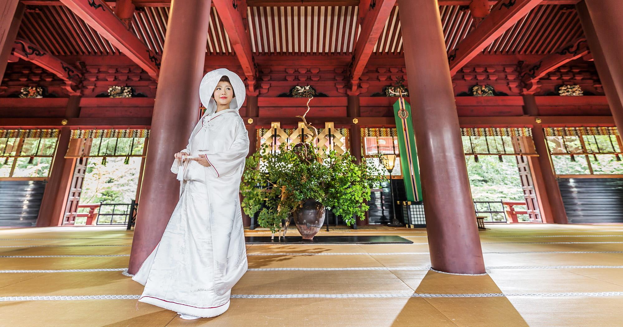 静岡和婚 静岡浅間神社挙式